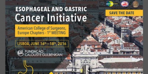 Esophageal and Gastric Cancer Initiative: submissão de abstracts até 20 de abril